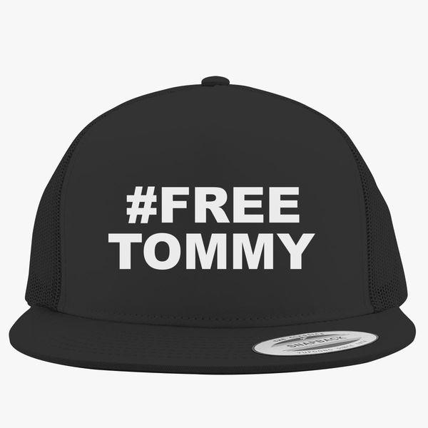 Free Tommy Robinson Free Speech Trucker Hat +more 23823fe4340c