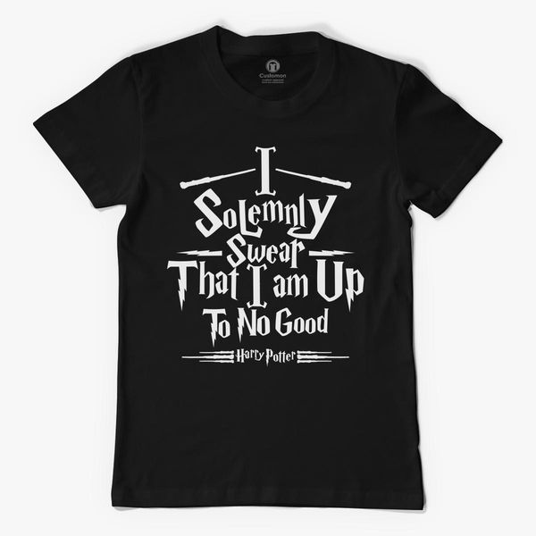 Harry Potter I Solemnly Swear I am Up to No Good Men's T ...