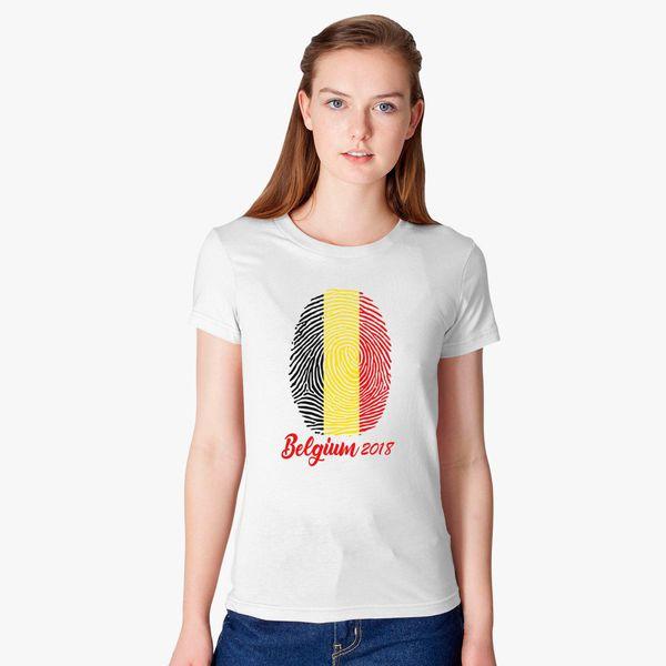 WORLD CUP - BELGIUM 2018 Women s T-shirt +more 584ba9d7f
