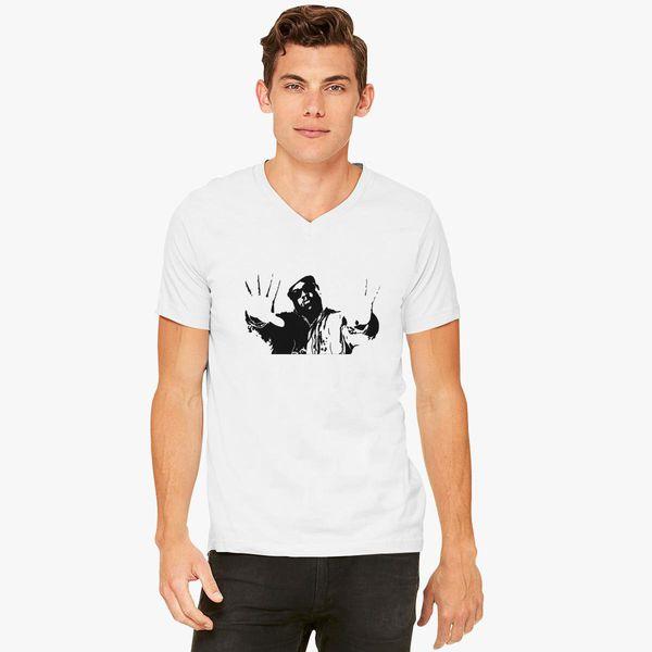 NOTORIOUS BIG V-Neck T-shirt ... 991341aa1c4d