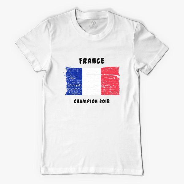 france fifa world cup 2018 women 39 s t shirt. Black Bedroom Furniture Sets. Home Design Ideas