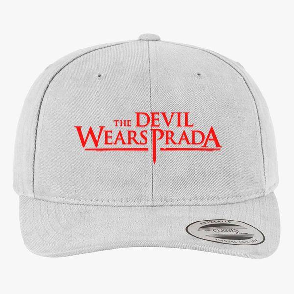 ecf80214f35 The Devil Wears Prada Logo Brushed Cotton Twill Hat ...