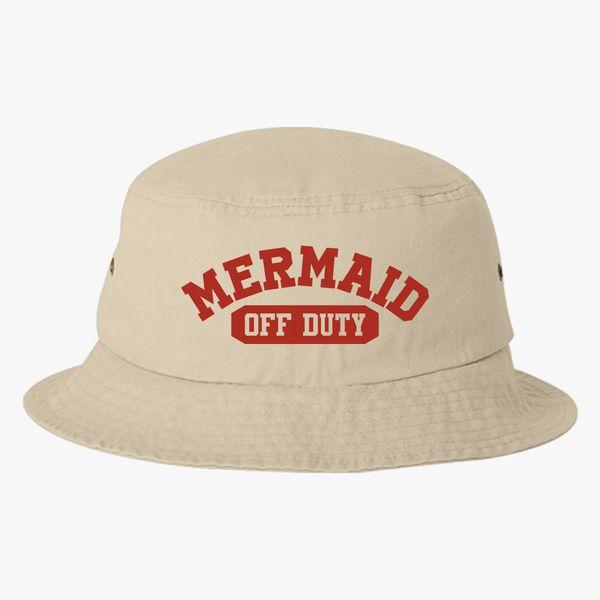 Mermaid-Off-Duty Bucket Hat +more a22b0ac1601