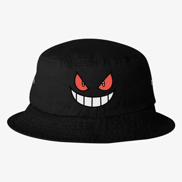 Gengar - Pokemon Bucket Hat (Embroidered)  9b90f5d7bf2