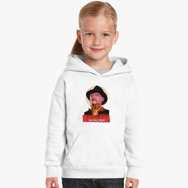 Freddy Krueger A Nightmare On Elm Street Kids Hoodie Customoncom