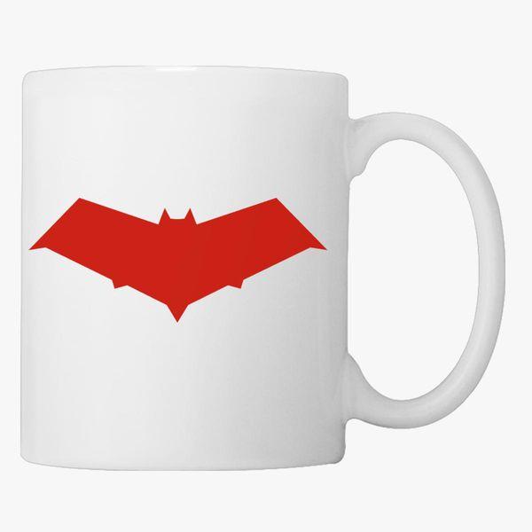 Red Hood Jason Todd Logo Coffee Mug Customon