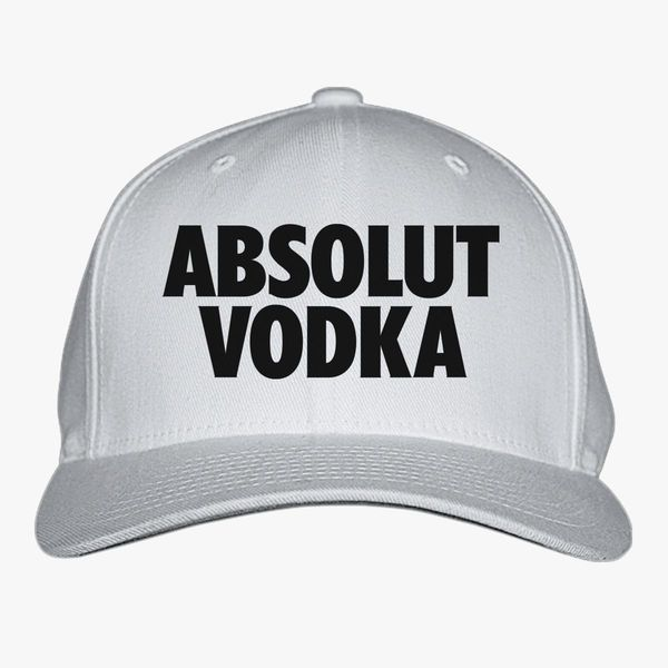absolut vodka logo baseball cap customon com