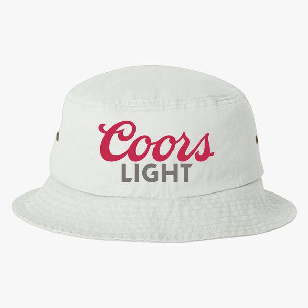 Coors Light Beer Bucket Hat ... 990e773e848