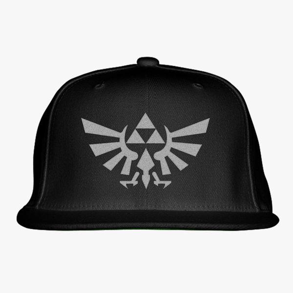 Zelda Triforce Symbol Snapback Hat (Embroidered)  faddc761b6a