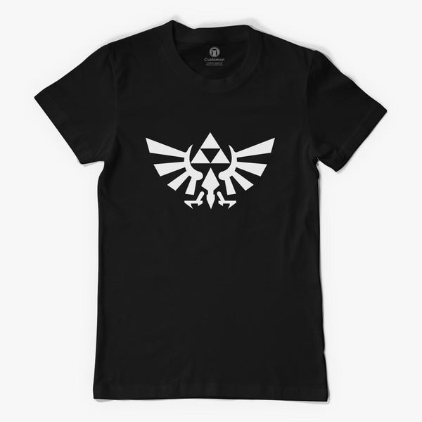 Zelda Triforce Symbol Womens T Shirt Customon