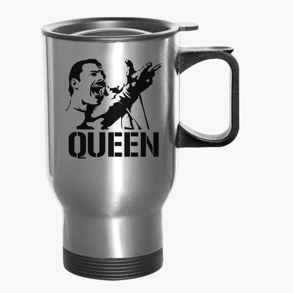 Freddie Mercury Queen Travel Mug Customon Com