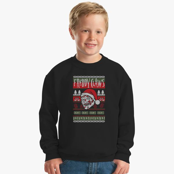 Freddy Krueger Ugly Christmas Sweater Kids Sweatshirt Customoncom