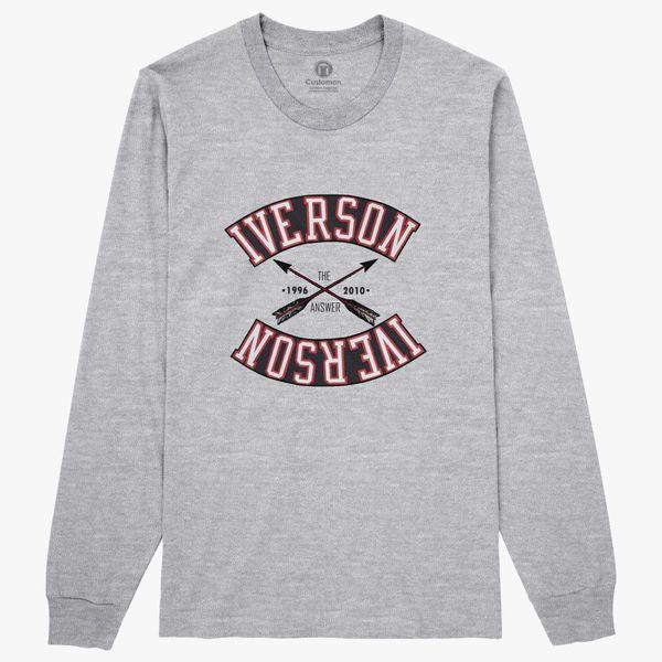 f81bc00a2 ALLEN IVERSON Long Sleeve T-shirt ...