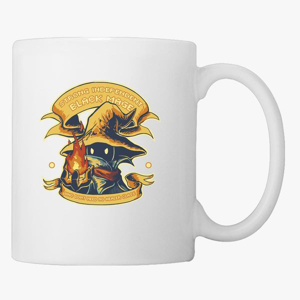 Strong Independent Black Mage Coffee Mug Customon