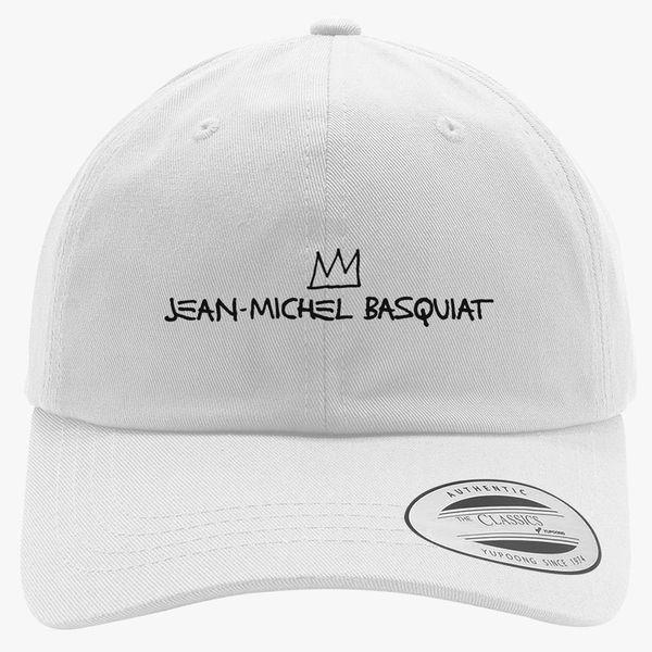 Jean Michel Basquiat Logo Cotton Twill Hat +more e9703fa48c2
