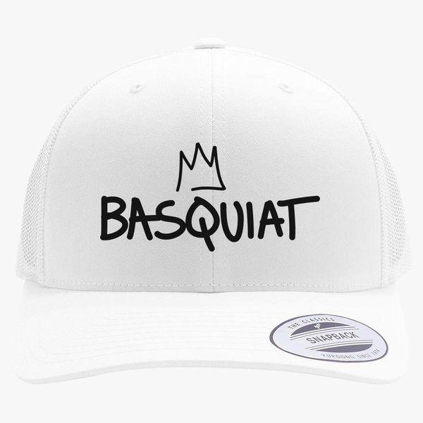 Jean Michel Basquiat Logo Retro Trucker Hat ... fc6f2bbde90
