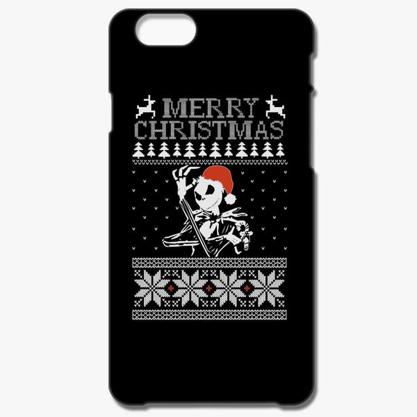 Jack Skellington Ugly Christmas Sweater Iphone 66s Plus Case