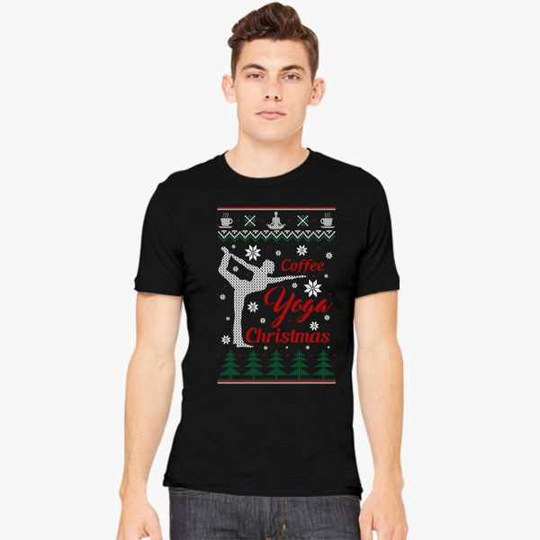 coffee ugly christmas sweater mens - Christmas Sweaters Men
