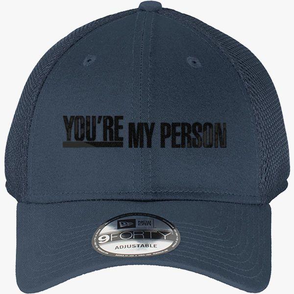 Greys Anatomy Youre My Person New Era Baseball Mesh Cap