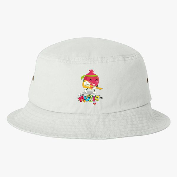 Funny Fruit Music Guitarist Bucket Hat ... 6c0388dc6ae