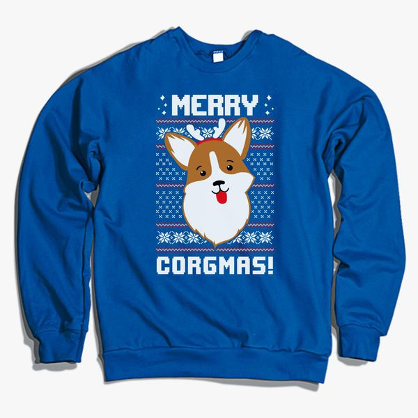 merry corgmas christmas sweater sweatshirt corgi
