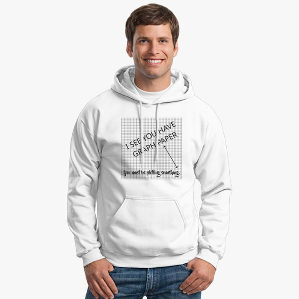 i see you have graph paper math pun unisex hoodie customon com