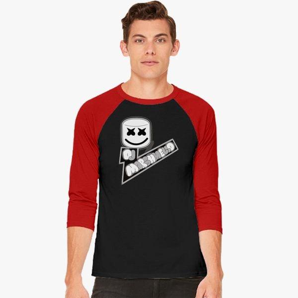 dj marshmello baseball t shirt customon com