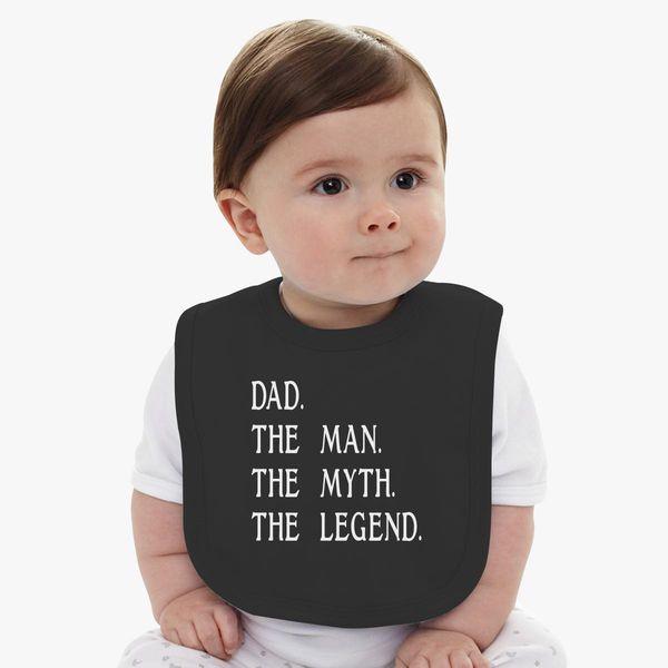 dad tshirt dad birthday gifts baby bib customon com