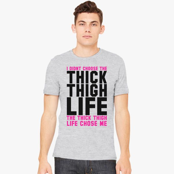 aba810b9edce4 Thick Thighs Thin Patience tshirt for men and women tshirt in 2019