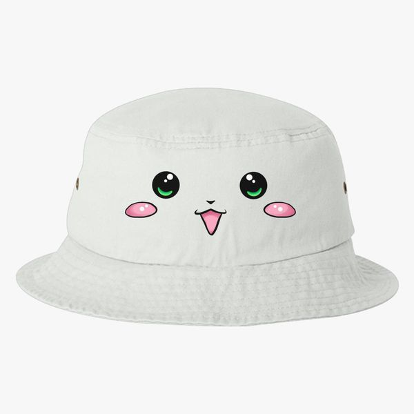 Super Kawaii Bucket Hat - Embroidery +more 9404611432f