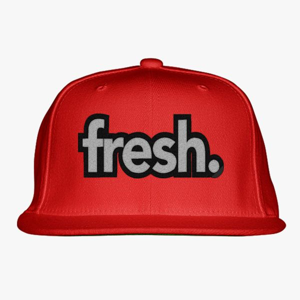Fresh Snapback Hat (Embroidered)  b4ccc5a2d2e