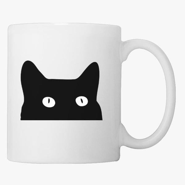 Black Cat Coffee Mug Customon Com