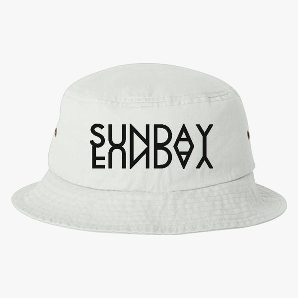 Sunday fun Bucket Hat - Embroidery Change style 553427804d2