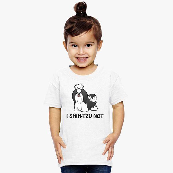 I Shih Tzu Not Toddler T Shirt Customoncom