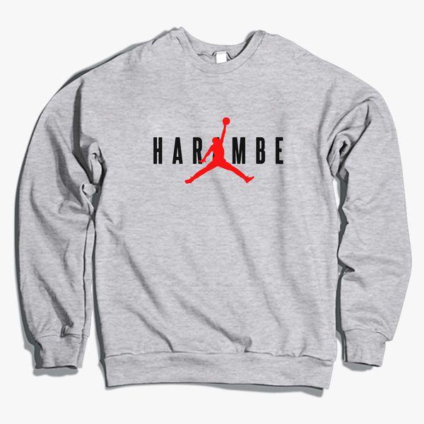 Haramble X Jordan Crewneck Sweatshirt Customoncom