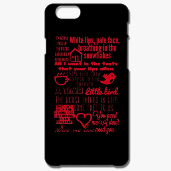 Ed Sheeran Lyrics Iphone 6 6s Case Change Phone