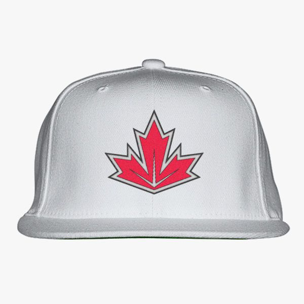 WCH Team Canada Snapback Hat - Embroidery +more c483ec2fc3a