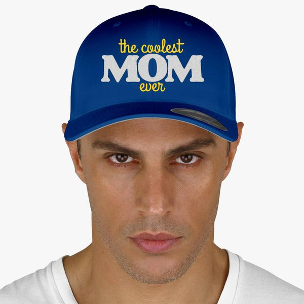 Coolest Hat Ever >> The Coolest Mom Ever Baseball Cap Embroidered Customon Com