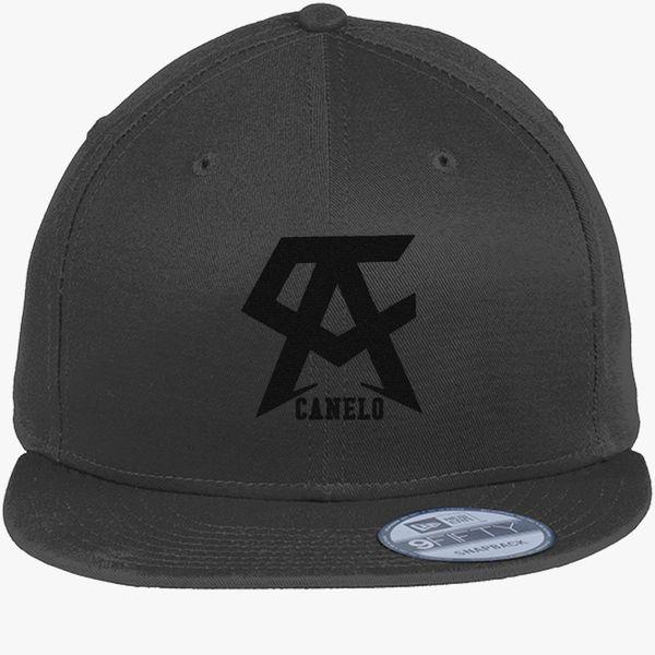 CANELO ALVAREZ - CANELO - BLACK New Era Snapback Cap (Embroidered ... 1fbdad7a7c5