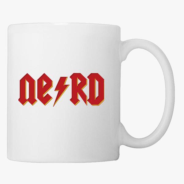Nerd Acdc Coffee Mug