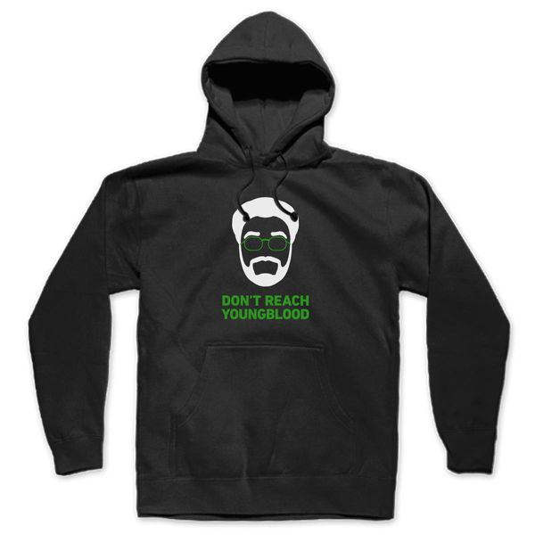 Don'T Reach, Youngblood Unisex Hoodie Black / S