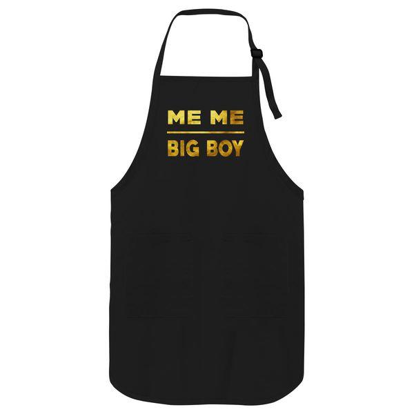 Jacksfilms Me Me Big Boy Apron Black / One Size