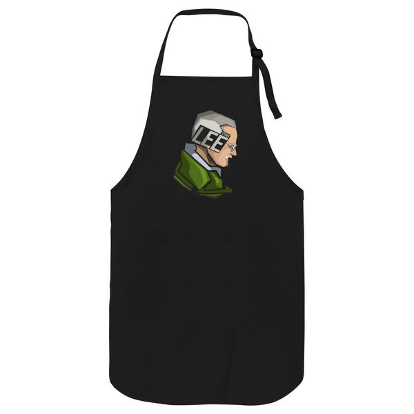 Stan Lee Apron Black / One Size