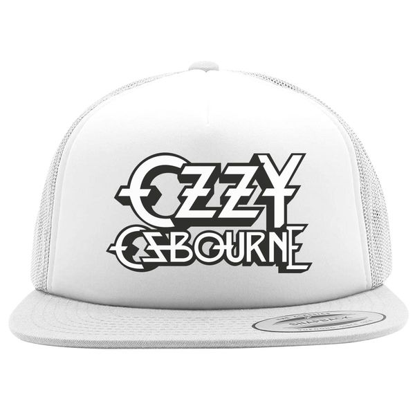 Ozzy Osbourne Foam Trucker Hat White / One Size