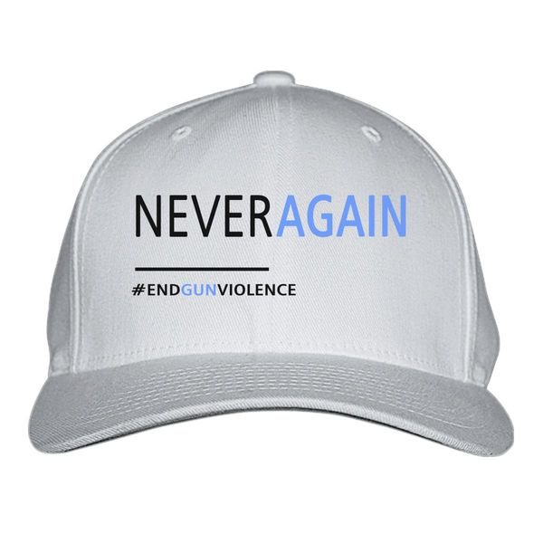 Never Again, March For Our Lives Baseball Cap White / S/M
