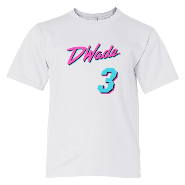 Dwade Youth T-Shirt White / S