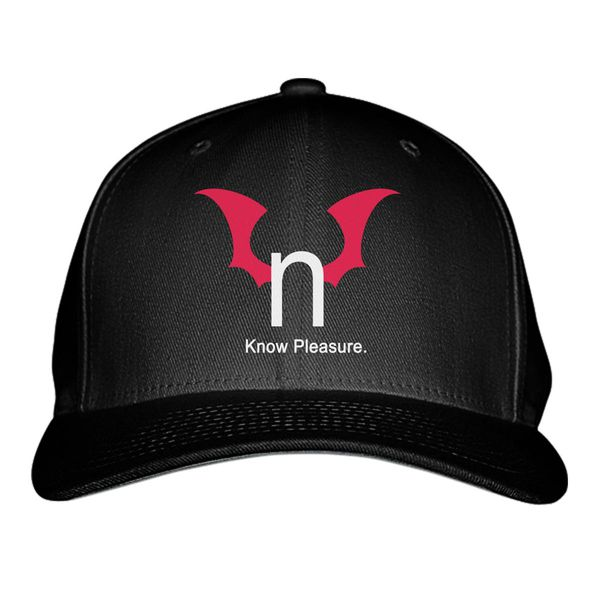 N Hentai Logo Know Pleasure Baseball Cap Black / S/M