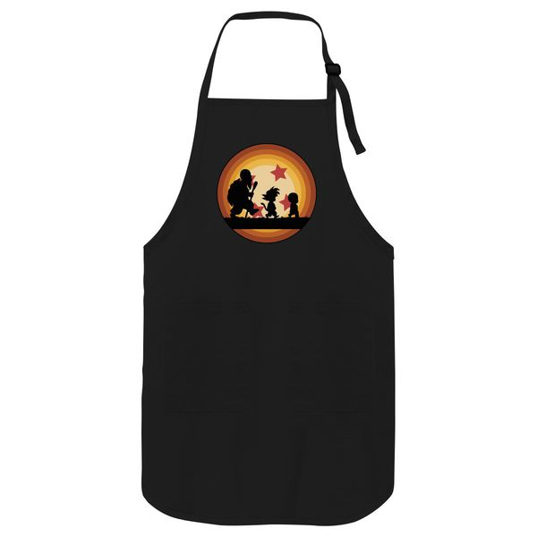 Goku Dragon Ball Z Apron Black / One Size