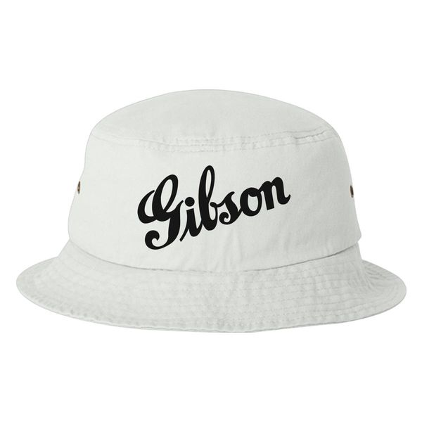 Gibson Bucket Hat White / One Size