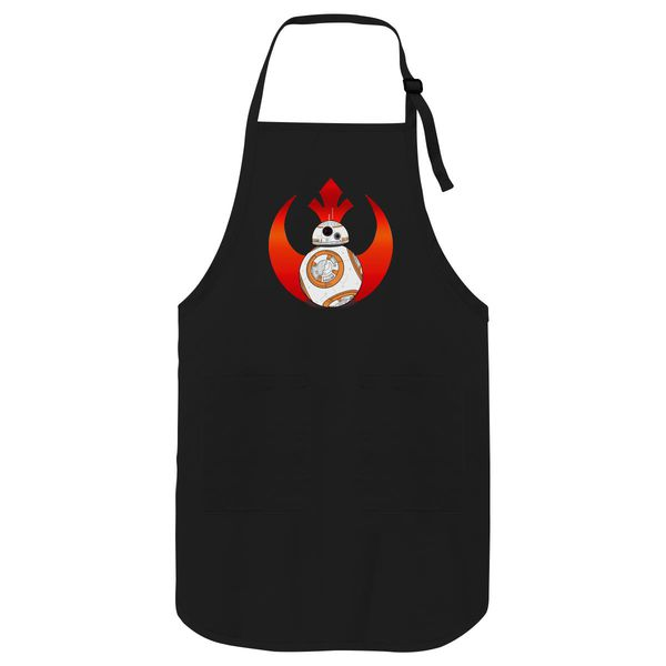 Rebel Bb8 Apron Black / One Size